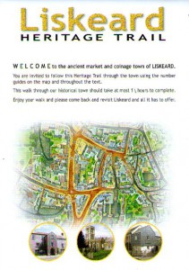 Liskeard Heritage Trail Map